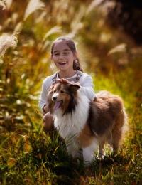 Собака -друг ребенка!