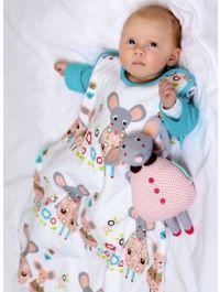 Связанный спальный мешок. новорожденный