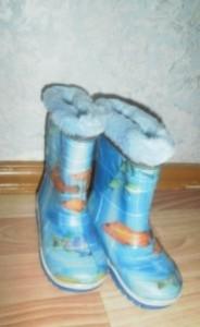 Резиновые сапоги для детей