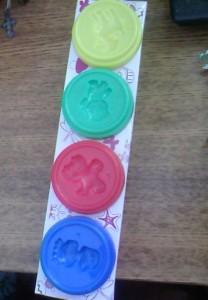 Лепка из пластилина для детей от года до двух