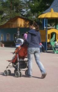 Идем с ребенком в парк