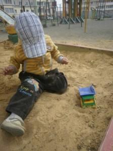Пескотерапия для ребенка