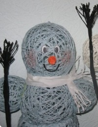 Подарок снеговик своими руками