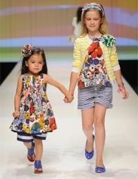 Детская мода лето - 2012