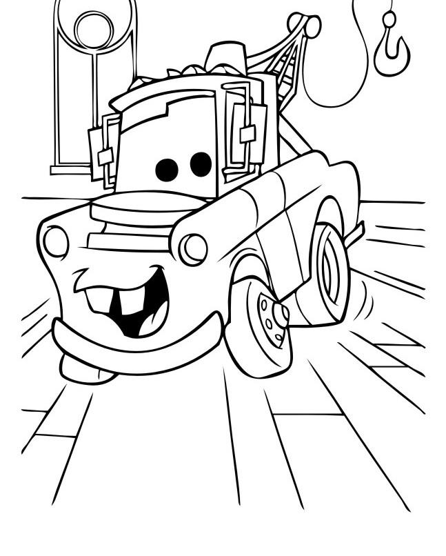 раскраски для мальчиков тачки пузик карапузик сайт о