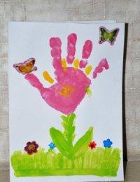 Рисунки на 8 Марта с самыми маленькими