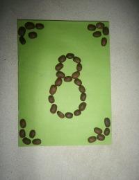 Поделки на 8 Марта своими руками из зерен кофе