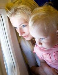 Перелет с ребенком на самолете