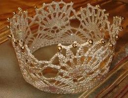 Корона для девочки на Новый Год своими руками