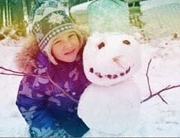 Зимний отдых с детьми