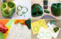 Штампы для рисования своими руками из овощей